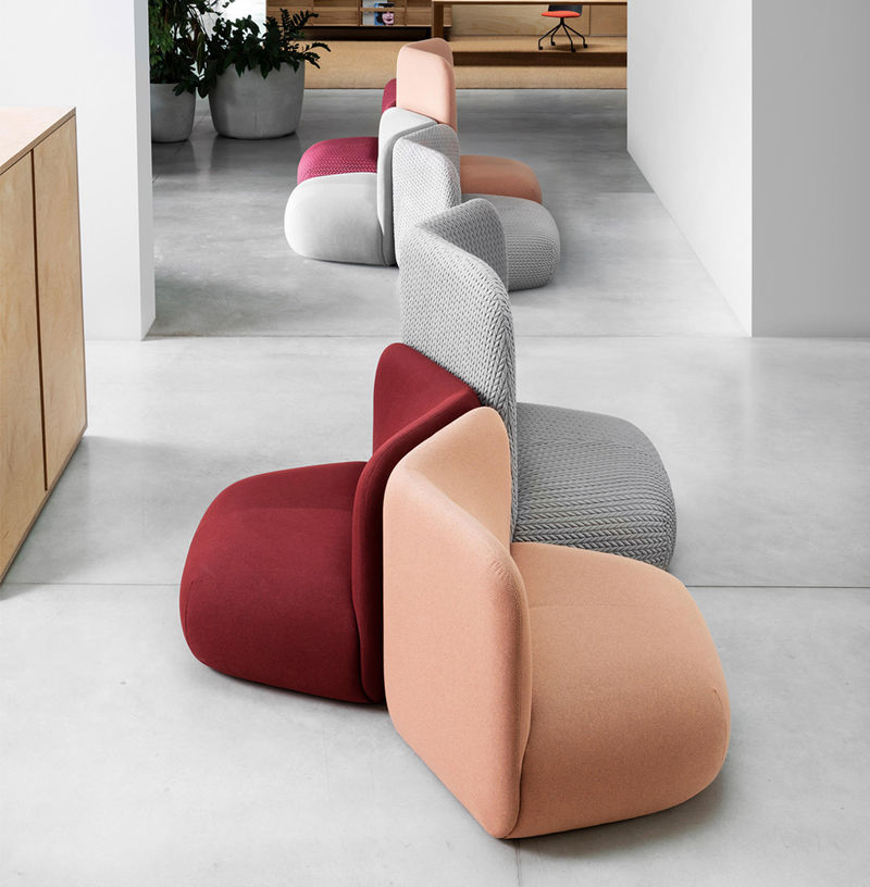 Chunky Communally-Oriented Armchairs
