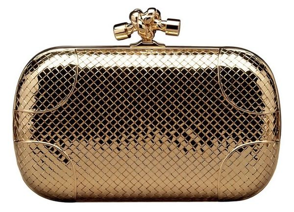 Party-Ready Diamond Purses   bottega veneta knot clutch 0e469c91f8ea6