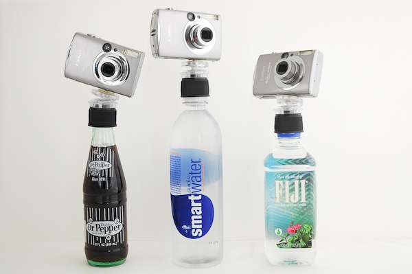Bottle Cap Tripods