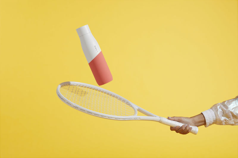 Sporty Self-Cleaning Bottles