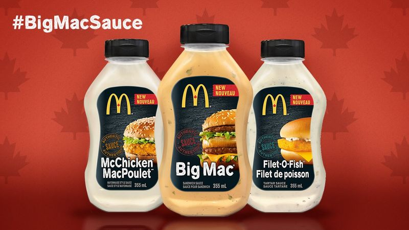 Fast Food Sandwich Sauces