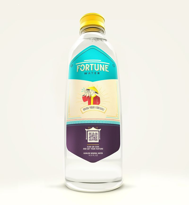 Fortune-Telling Water Bottles