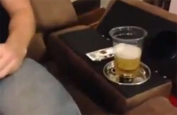 Auto-Fill Beer Dispensing Chairs