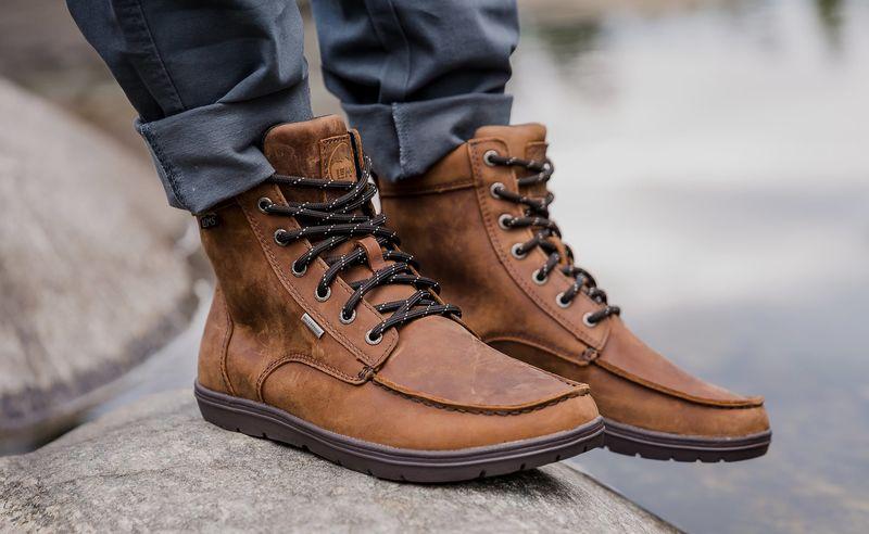 Ergonomic Zero-Drop Adventure Boots