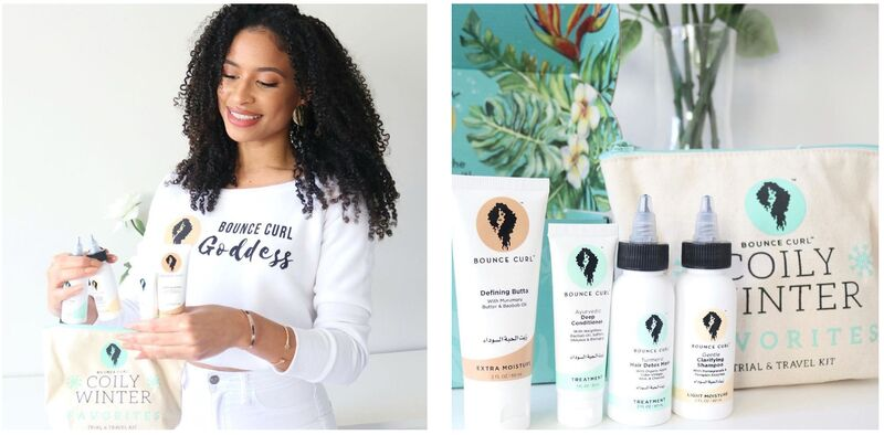 Curly Hair Travel Care Kits
