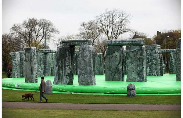 Bouncy Stonehenge Castles