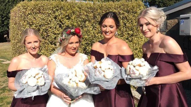 Donut Bridal Bouquets