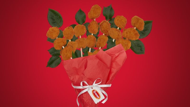 Chicken Nugget Bouquets