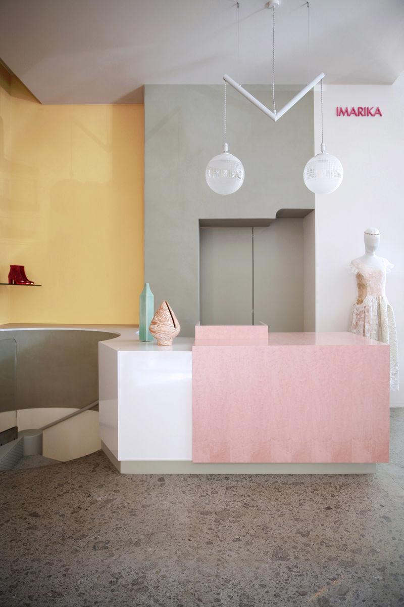 Pastel-Colored Boutique Fashion Stores