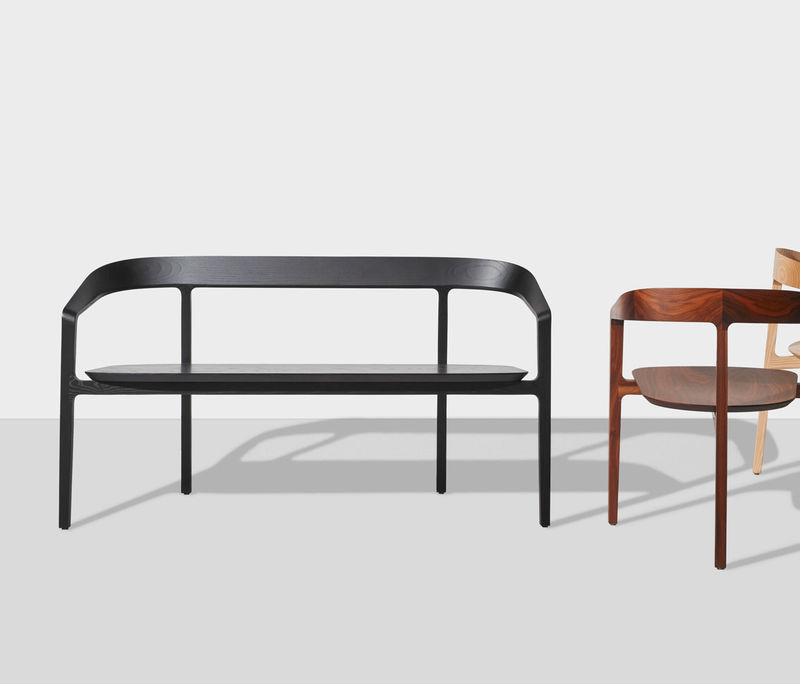 Solid Wooden Modern Benches