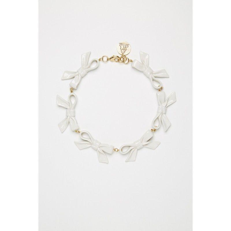 Feminine Ribbon Necklaces