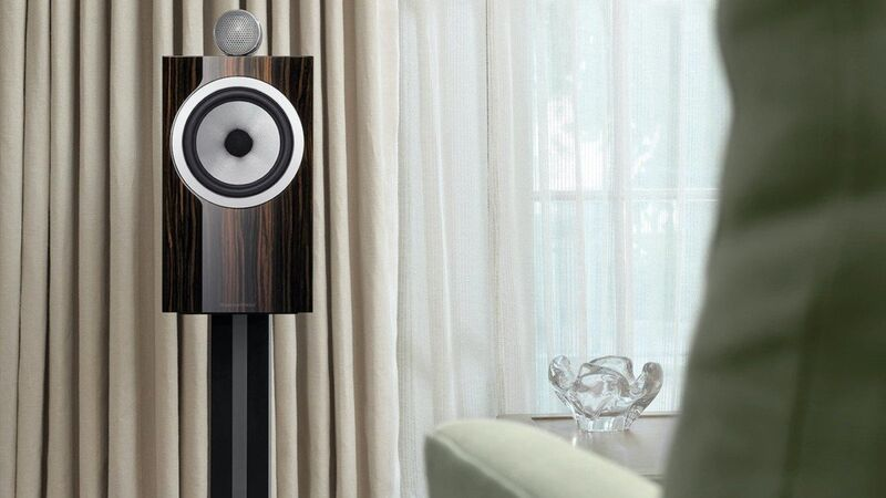 Elegantly Finished Floor Speakers