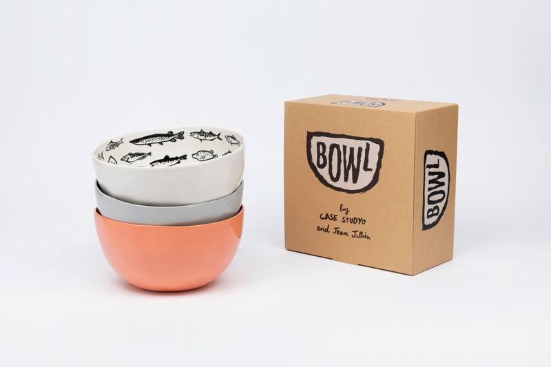 Minimally Illustrated Bowls