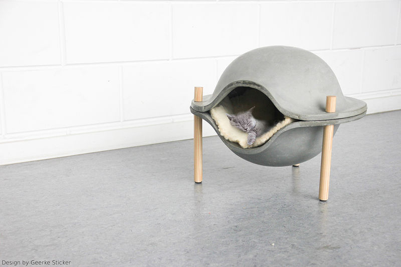 Concrete Pet Beds
