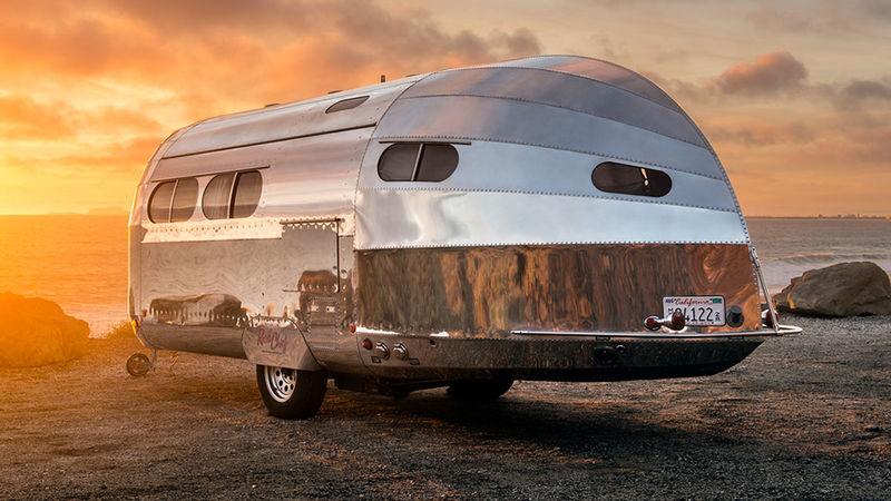 Luxury Aluminum Camping Trailers