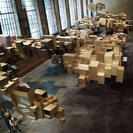 Pixelated Box Heavens