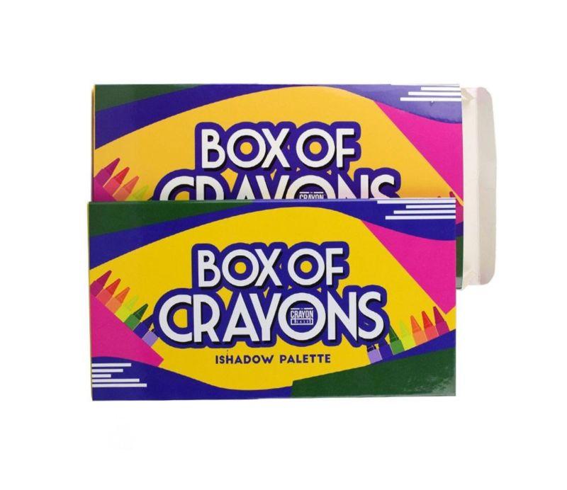 Nostalgic Eyeshadow Sets Box Of Crayons Ishadow Palette
