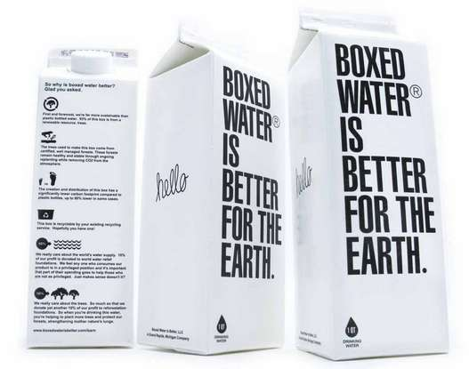 Eco-Friendly Aqua Packs