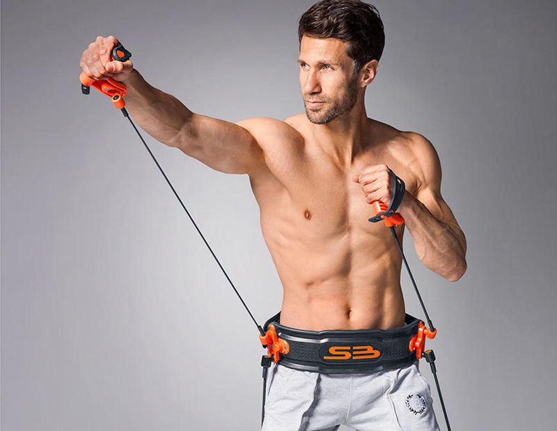 Waist-Affixed Boxing Sets