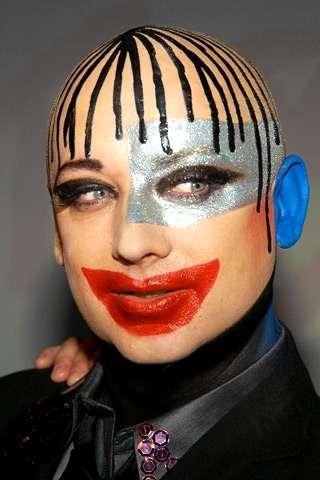 Boy George Runway Makeup