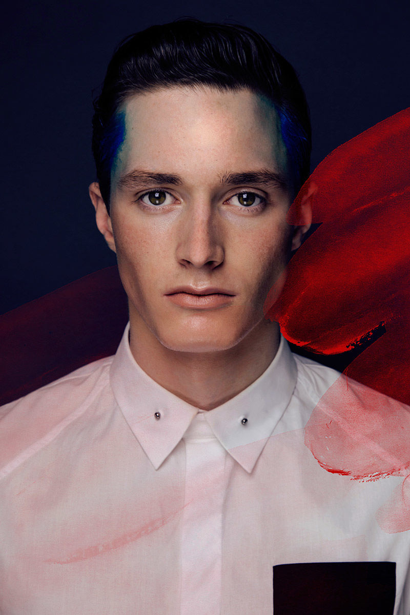 Face Paint Menswear Editorials