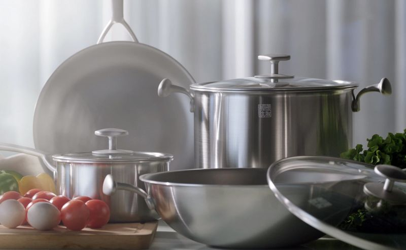 Direct-to-Consumer Titanium Cookware
