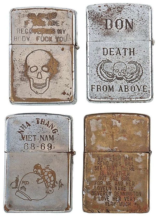 Recovered Combatant Lighters