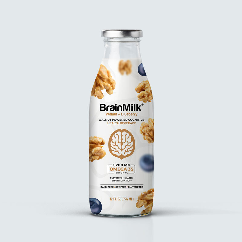 Cognition-Boosting Nut Milks