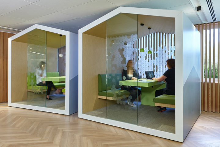 Digitized Immersive Offices Brand Experience Center