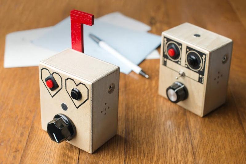 Eccentric Audio Recording Devices