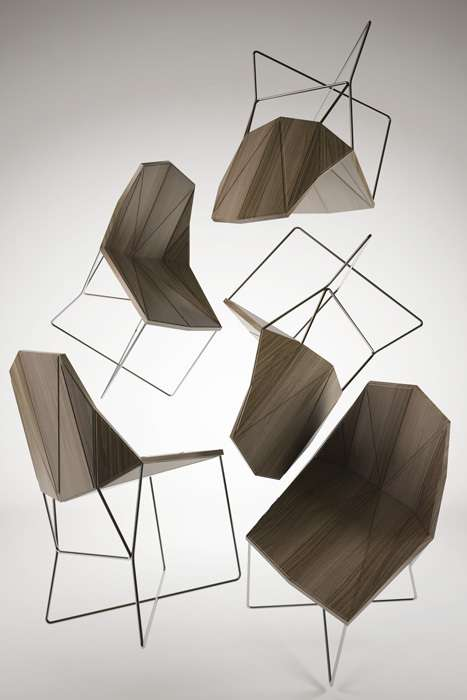 Geometric-Patterned Furniture