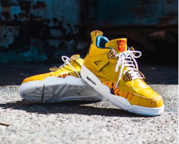 Custom Action-Movie Sneakers