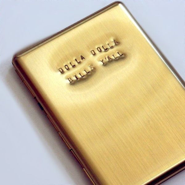 Money-Loving Engraved Wallets
