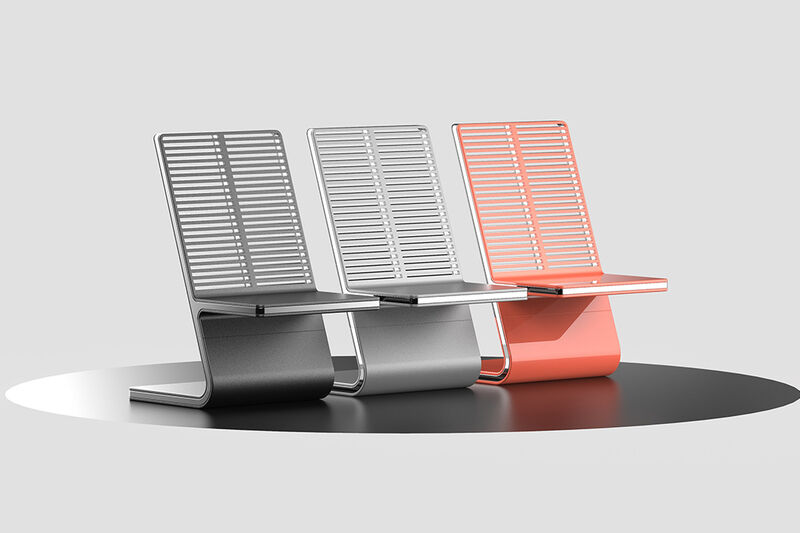 Sculptural Tech-Inspired Seating