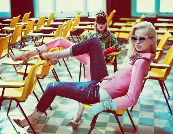 12 Brazen Bette Franke Photoshots