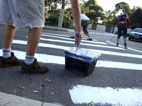 Artsy Pedestrian Activism