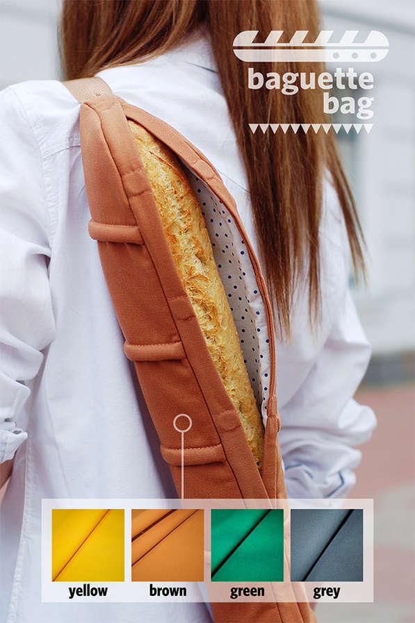 Baguette Holding Bags Bread Bag