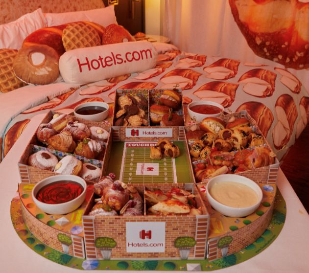 Football-Themed Hotel Promotions