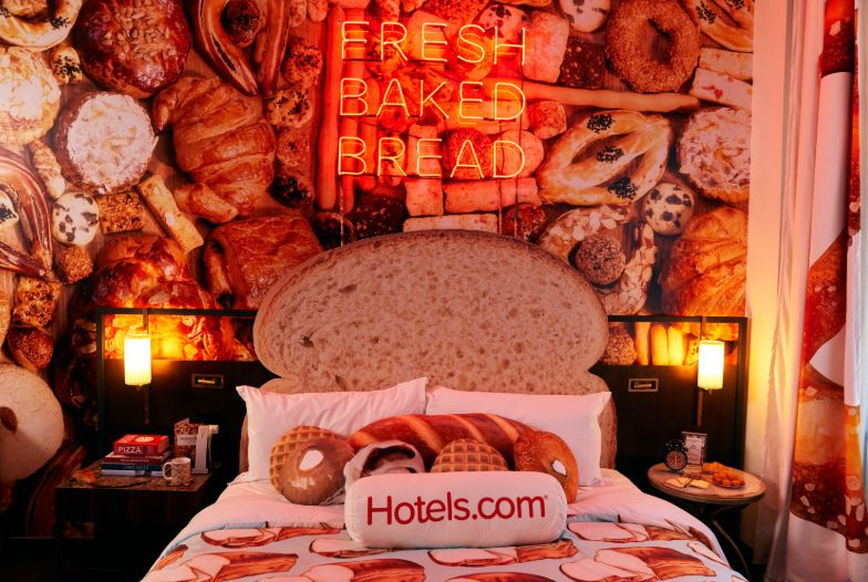 Bread-Themed Hotel Rooms