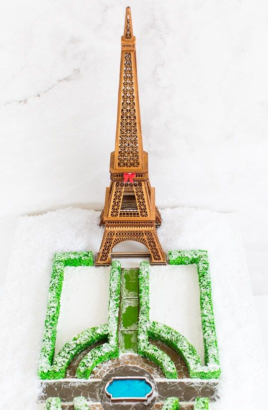 Parisian Gingerbread Monuments