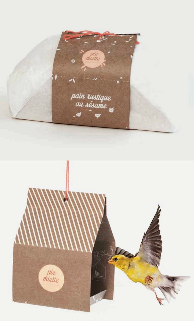 Birdhouse Bread Packaging