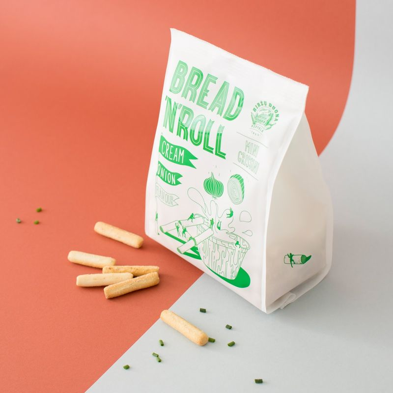 Comical Bread Stick Branding