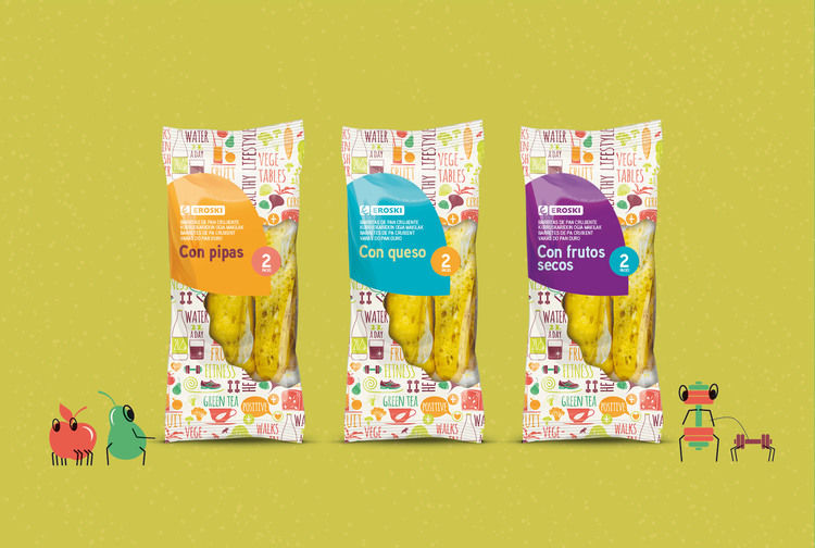Healthy Breadstick Packaging