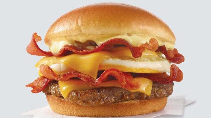 Breakfast-Themed QSR Burgers