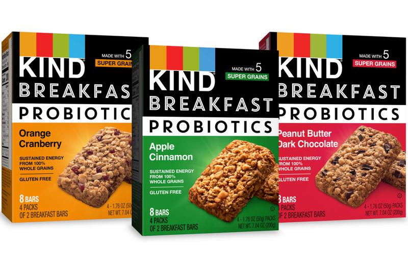Probiotic Breakfast Bars