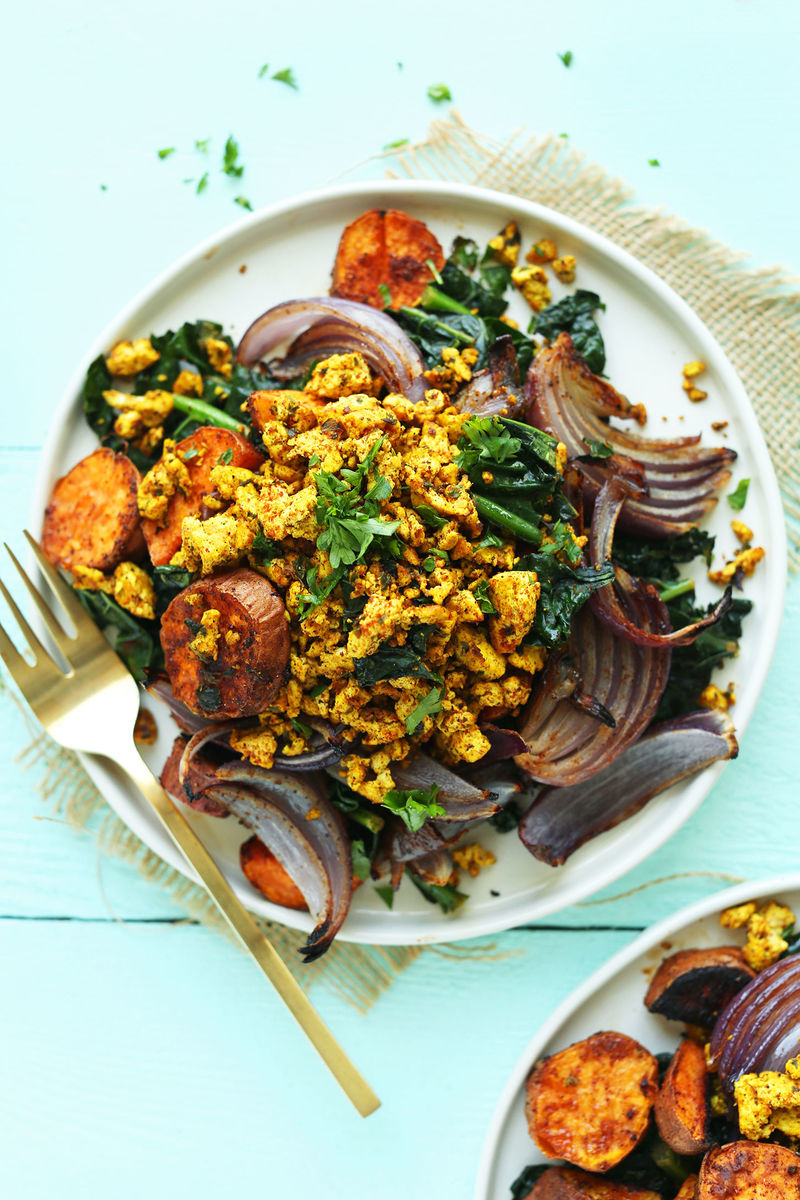 Savory Scrambled Tofu Dishes
