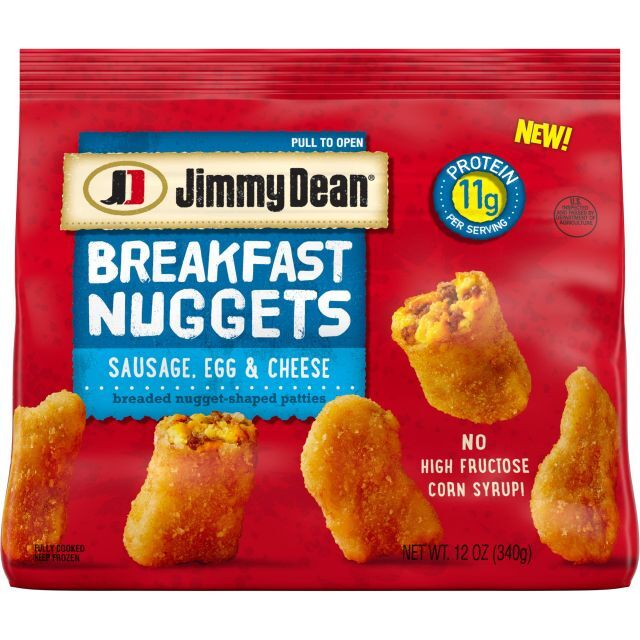 Microwaveable Breakfast Nuggets