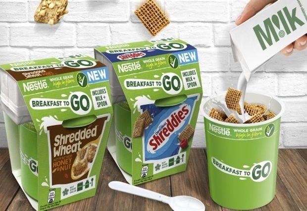 Milk-Integrated Cereal Pots
