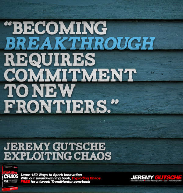 Commit to New Frontiers to Succeed