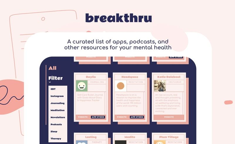 Curated Self-Care Resource Platforms